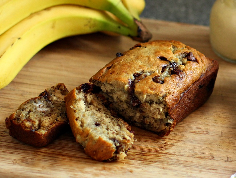 Peanut Butter Chocolate Chip Banana Bread – Recipe of the Week ...